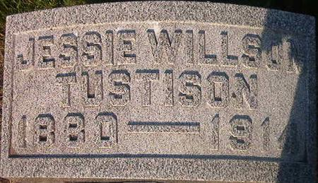 WILLSON TUSTISON, JESSIE - Louisa County, Iowa | JESSIE WILLSON TUSTISON