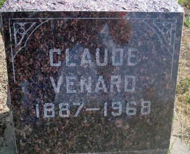 VENARD, CLAUDE - Louisa County, Iowa | CLAUDE VENARD