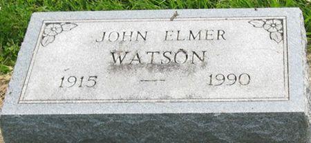 WATSON, JOHN ELMER - Louisa County, Iowa | JOHN ELMER WATSON