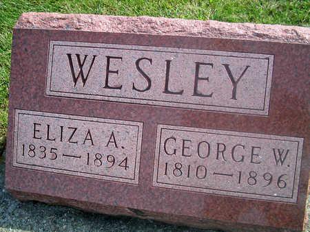 WESLEY, ELIZA A. - Louisa County, Iowa | ELIZA A. WESLEY