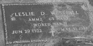 WESTFALL, LESLIE - Louisa County, Iowa | LESLIE WESTFALL