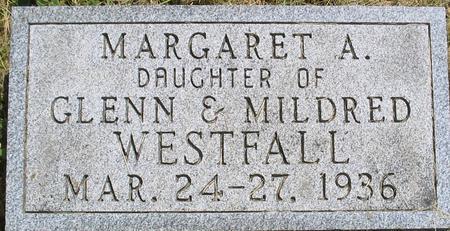 WESTFALL, MARGARET - Louisa County, Iowa   MARGARET WESTFALL