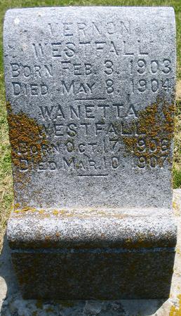 WESTFALL, VERNON - Louisa County, Iowa | VERNON WESTFALL
