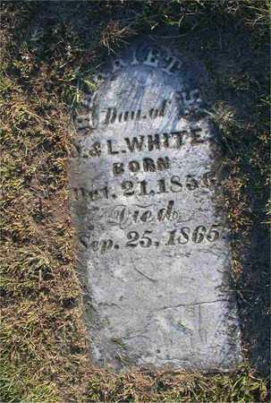 WHITE, HARRIET H. - Louisa County, Iowa   HARRIET H. WHITE