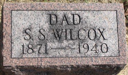 WILCOX, S. S. - Louisa County, Iowa   S. S. WILCOX