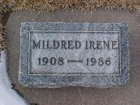 WILLEY, MILDRED IRENE - Louisa County, Iowa   MILDRED IRENE WILLEY
