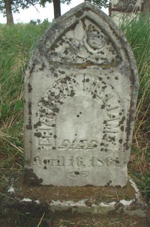 WILLIAMS, ELIZABETH - Louisa County, Iowa | ELIZABETH WILLIAMS