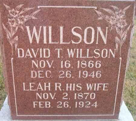 WILLSON, DAVID T. - Louisa County, Iowa | DAVID T. WILLSON