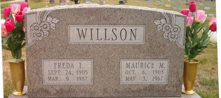 WILLSON, FREDA I. - Louisa County, Iowa | FREDA I. WILLSON