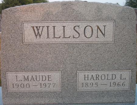 WILLSON, HAROLD L. - Louisa County, Iowa | HAROLD L. WILLSON