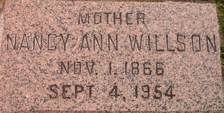 WILLSON, NANCY ANN - Louisa County, Iowa | NANCY ANN WILLSON