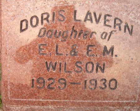 WILSON, DORIS LAVERN - Louisa County, Iowa | DORIS LAVERN WILSON
