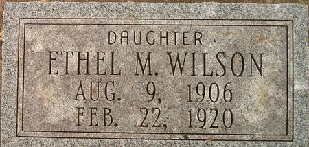 WILSON, ETHEL M. - Louisa County, Iowa | ETHEL M. WILSON