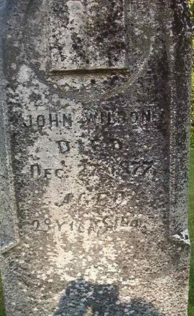 WILSON, JOHN - Louisa County, Iowa | JOHN WILSON