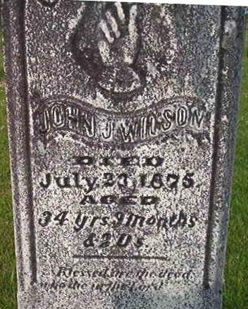 WILSON, JOHN J. (OLD) - Louisa County, Iowa | JOHN J. (OLD) WILSON