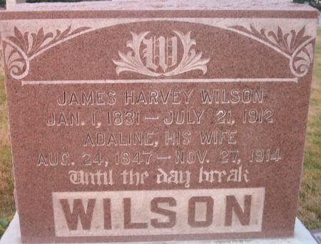WILSON, JAMES HARVEY - Louisa County, Iowa | JAMES HARVEY WILSON