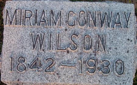 WILSON, MIRIAM - Louisa County, Iowa | MIRIAM WILSON