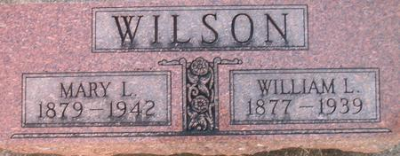 WILSON, MARY L. - Louisa County, Iowa | MARY L. WILSON
