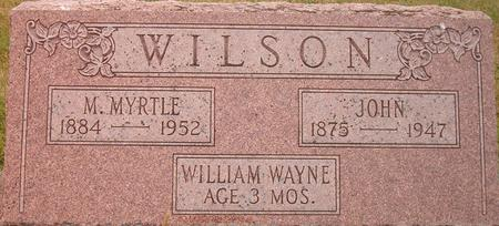 WILSON, WILLIAM WAYNE - Louisa County, Iowa   WILLIAM WAYNE WILSON