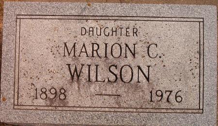 WILSON, MARION C. - Louisa County, Iowa | MARION C. WILSON