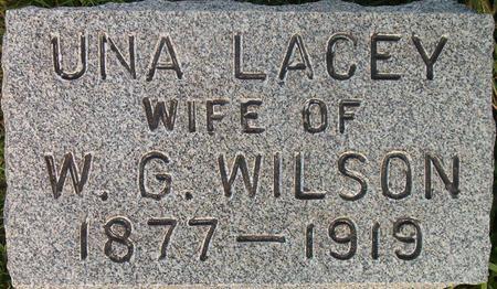 WILSON, UNA LACEY - Louisa County, Iowa | UNA LACEY WILSON