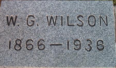WILSON, W. G. - Louisa County, Iowa   W. G. WILSON