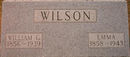 WILSON, WILLIAM G. - Louisa County, Iowa | WILLIAM G. WILSON