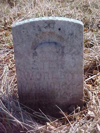 WORLEY, ESTER J. - Louisa County, Iowa   ESTER J. WORLEY