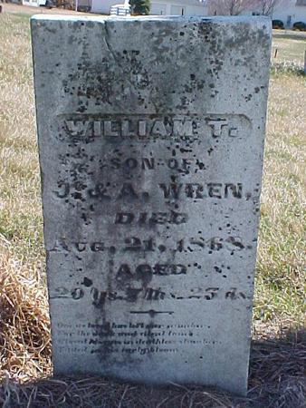 WREN, WILLIAM T. - Louisa County, Iowa | WILLIAM T. WREN