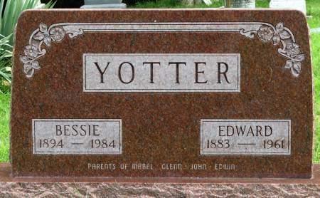 YOTTER, BESSIE - Louisa County, Iowa | BESSIE YOTTER