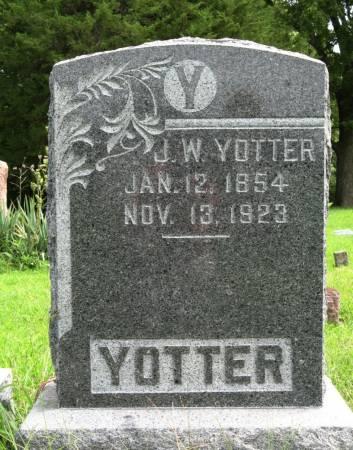 YOTTER, JOHN W. - Louisa County, Iowa | JOHN W. YOTTER
