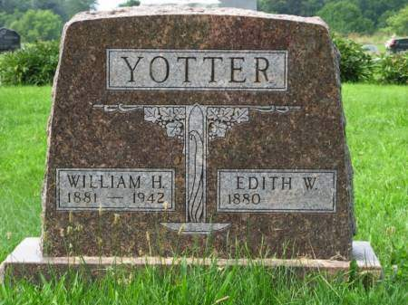 ZELL YOTTER, EDITH W. - Louisa County, Iowa | EDITH W. ZELL YOTTER