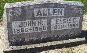 ALLEN, JOHN H - Lucas County, Iowa | JOHN H ALLEN