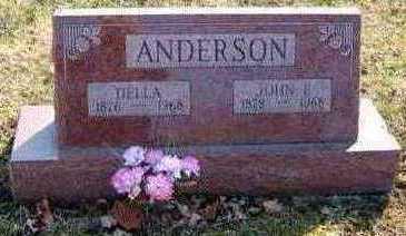 ANDERSON, DELLA - Lucas County, Iowa   DELLA ANDERSON