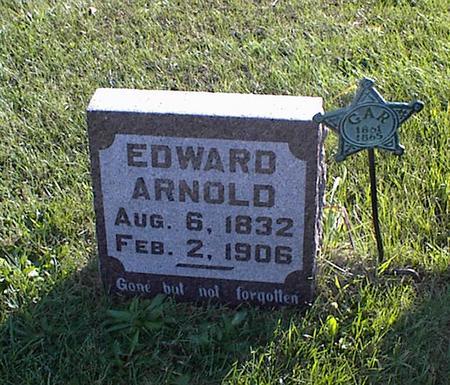 ARNOLD, EDWARD W. - Lucas County, Iowa | EDWARD W. ARNOLD
