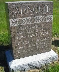 ARNOLD, MANDAVILLE - Lucas County, Iowa | MANDAVILLE ARNOLD