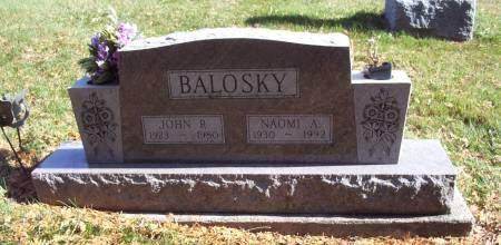BALOSKY, NAOMI A. - Lucas County, Iowa | NAOMI A. BALOSKY