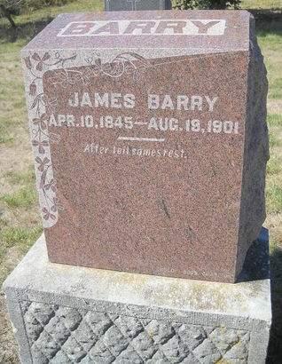 BARRY, JAMES - Lucas County, Iowa   JAMES BARRY