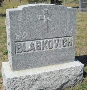 BLASKOVICH, FAMILY STONE - Lucas County, Iowa | FAMILY STONE BLASKOVICH