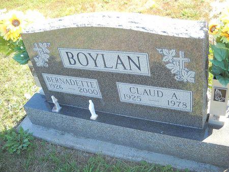 SMITH BOYLAN, BERNADETTE - Lucas County, Iowa | BERNADETTE SMITH BOYLAN