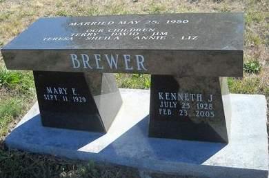 BREWER, KENNETH J. - Lucas County, Iowa   KENNETH J. BREWER