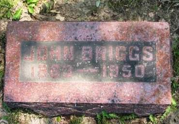 BRIGGS, JOHN - Lucas County, Iowa | JOHN BRIGGS