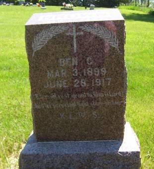 BROWN, BEN C. - Lucas County, Iowa | BEN C. BROWN