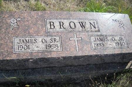 BROWN, JAMES O. SR - Lucas County, Iowa   JAMES O. SR BROWN