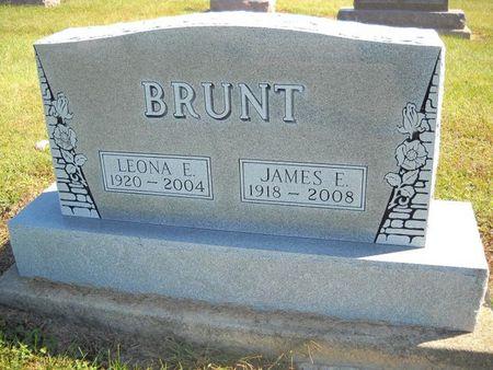 BRUNT, LEONA E - Lucas County, Iowa | LEONA E BRUNT