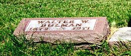 BULMAN, WALTER W - Lucas County, Iowa | WALTER W BULMAN