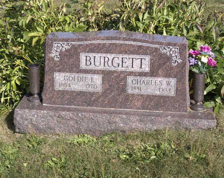BURGETT, GOLDIE  I. - Lucas County, Iowa | GOLDIE  I. BURGETT