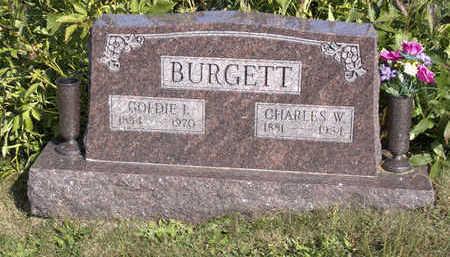 BURGETT, CHARLES  W. - Lucas County, Iowa | CHARLES  W. BURGETT