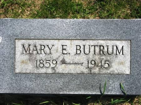 BUTRAM, MARY E - Lucas County, Iowa | MARY E BUTRAM