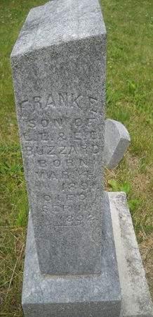 BUZZARD, FRANK E - Lucas County, Iowa   FRANK E BUZZARD